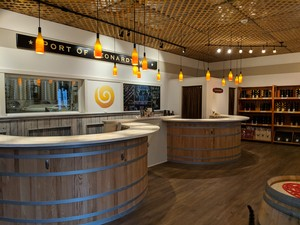The tasting room at Port of Leonardtown Winery