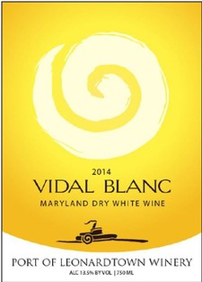 Port of Leonardtown Winery Products Vidal Blanc 2012