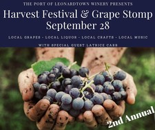 2019 Harvest Festival & Grape Stomp