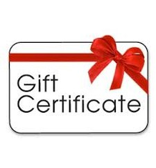 Gift certifcate 50