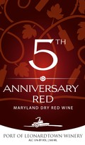 5 Year Anniversary Red Wine